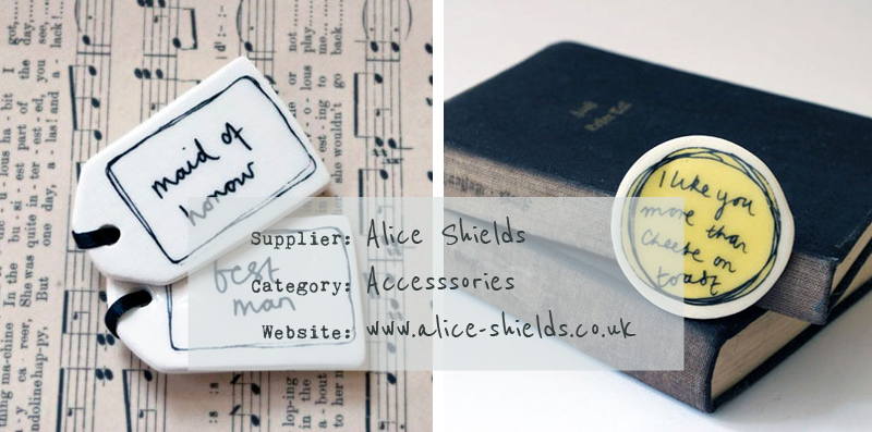 Alice Shields Wedding Accessories Bespoke Design UK