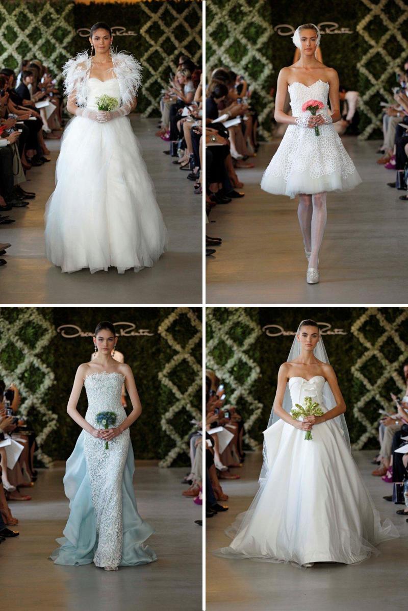 Oscar de la rental bridal 2013 london store for Rent wedding dress london