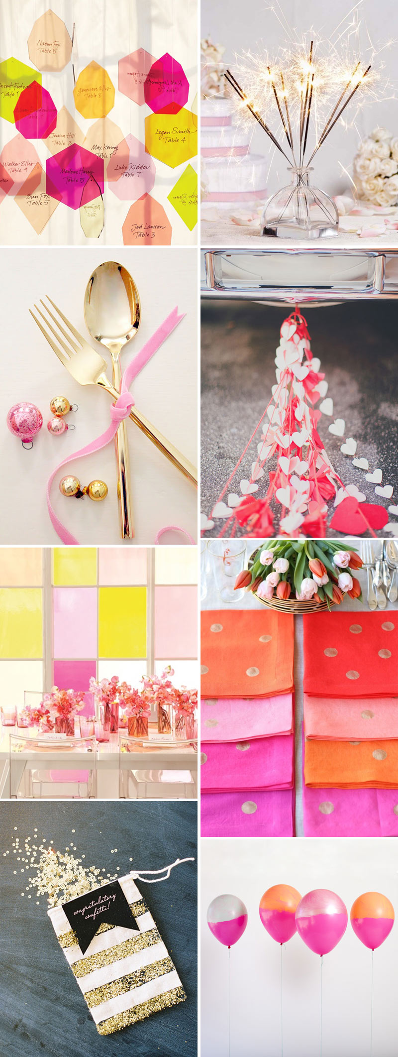 Bright And Beautiful Wedding Decor Inspiration