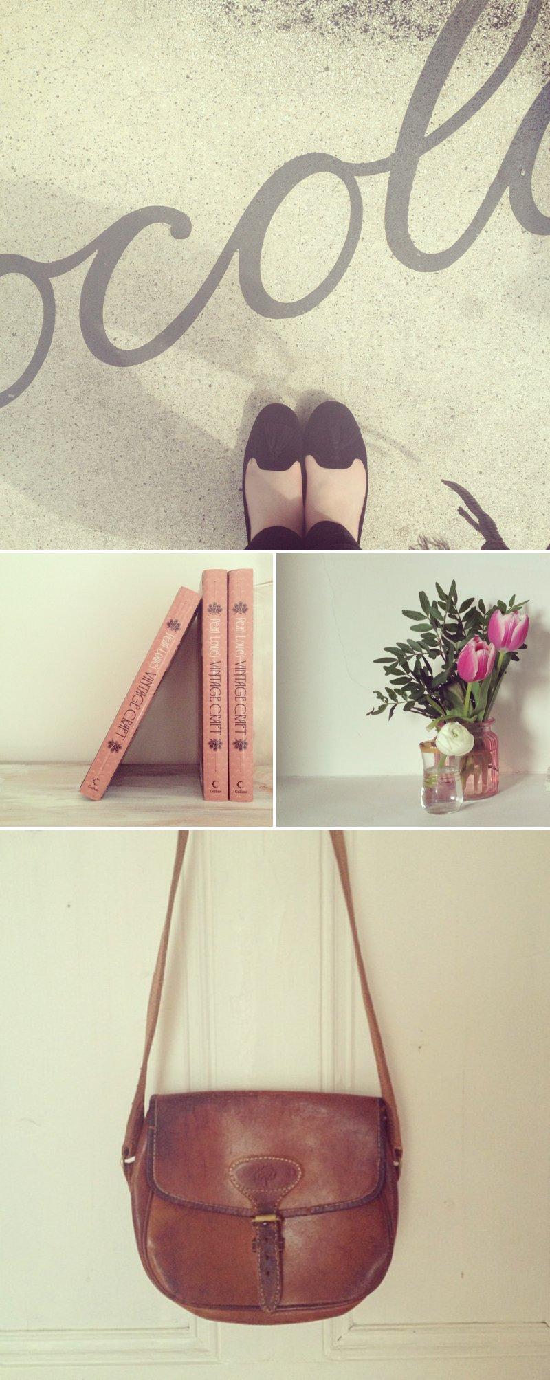 Vintage Mulberry Bag Romantic Florals