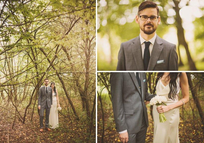 Reiss Grey Groom's Suit Tie Pin White Tulip Bouquet