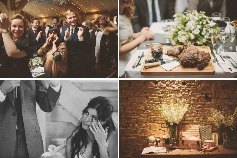 Rustic Wedding Venue Cotswolds Fairy lights Festoon Lighting