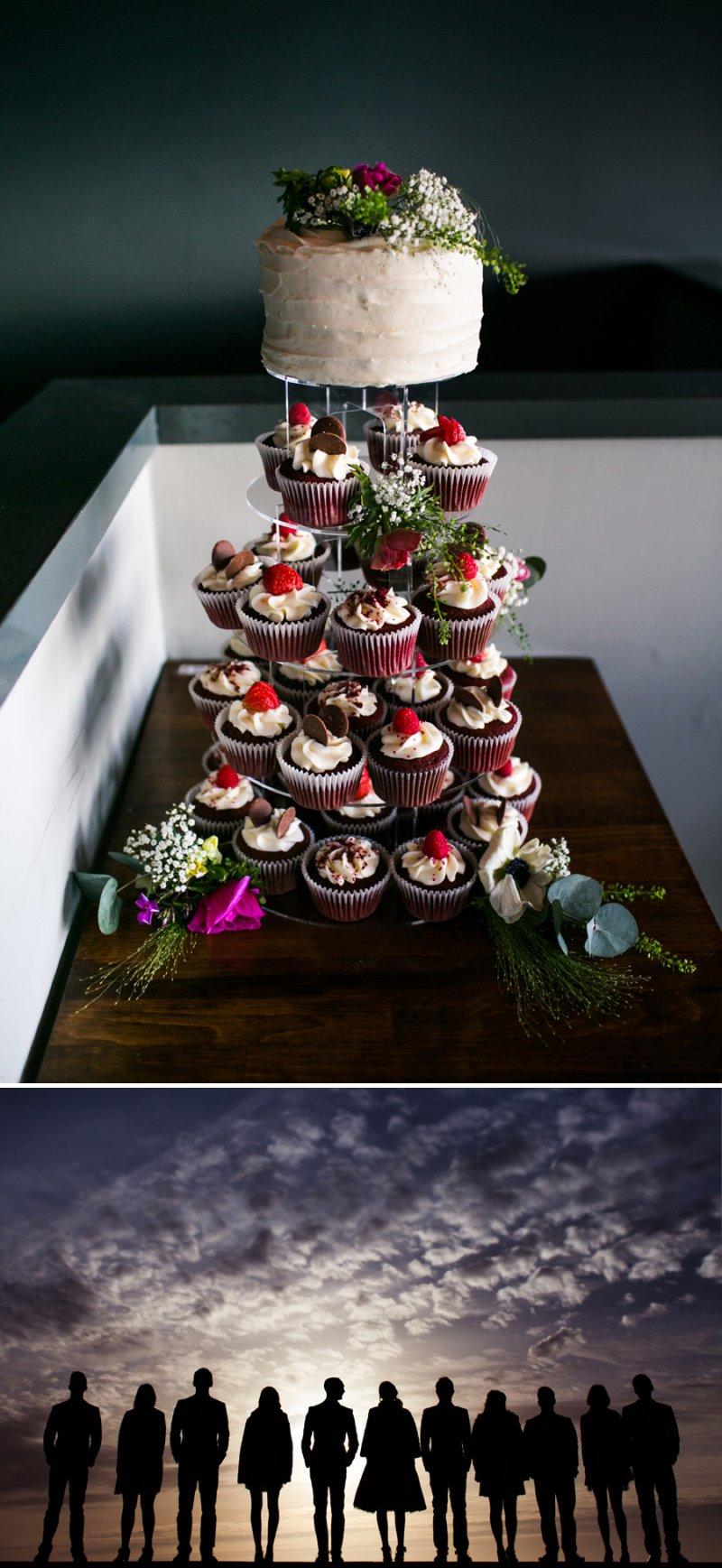 Red Velvet Wedding Cakes Cupcakes