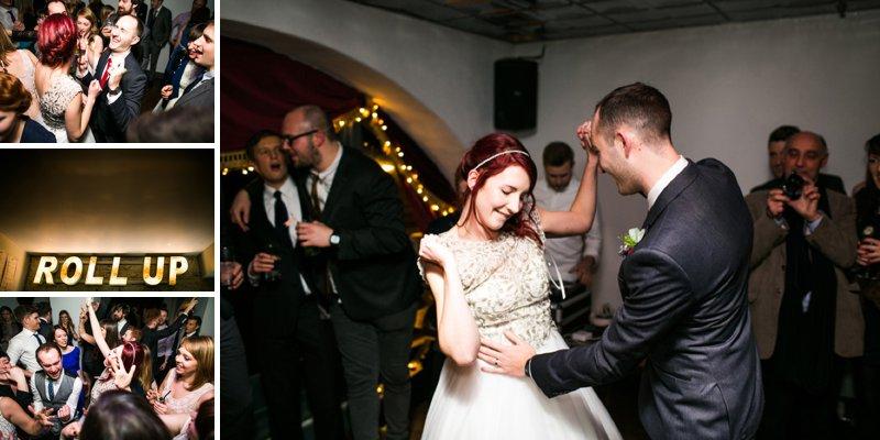 First Dance navyblur Wedding Photography