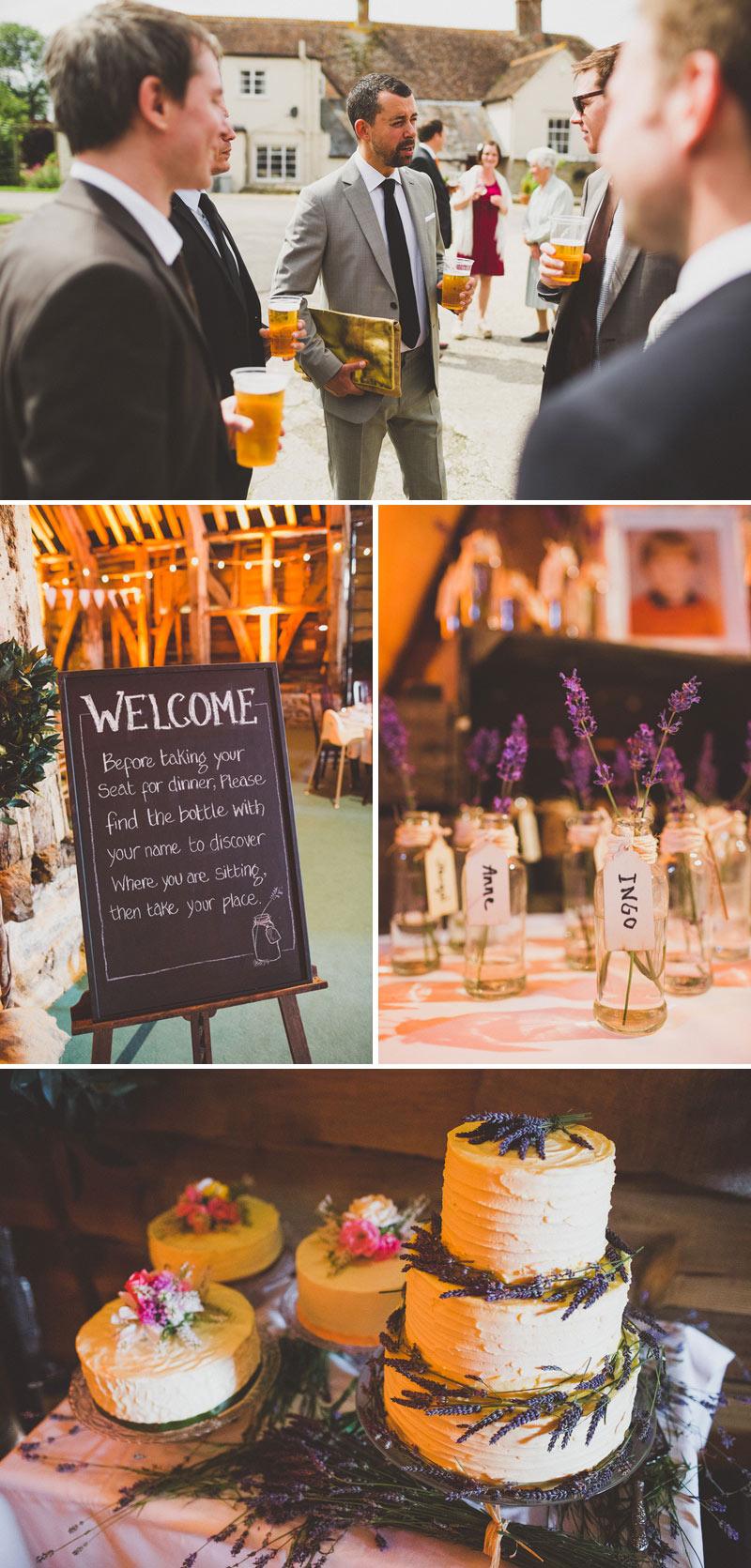 Cotswolds Wedding Inspiration Amanda Wakeley Wedding Dress Modern Contemporary Simple Cripps Barn Wedding