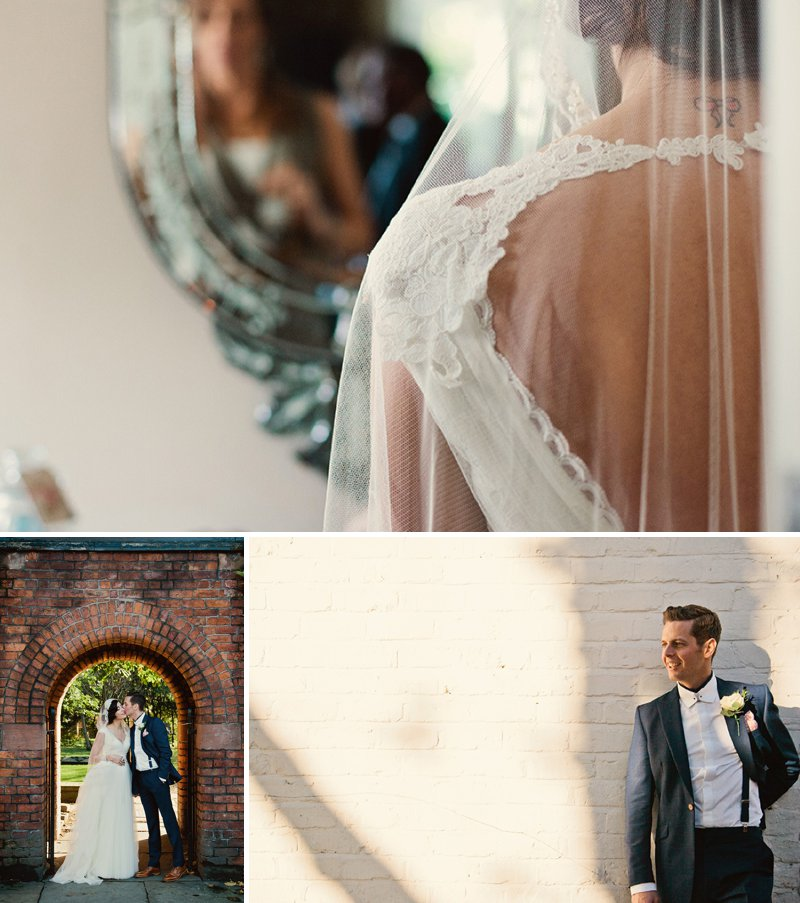 Vintage Wedding Inspiration Back Detail