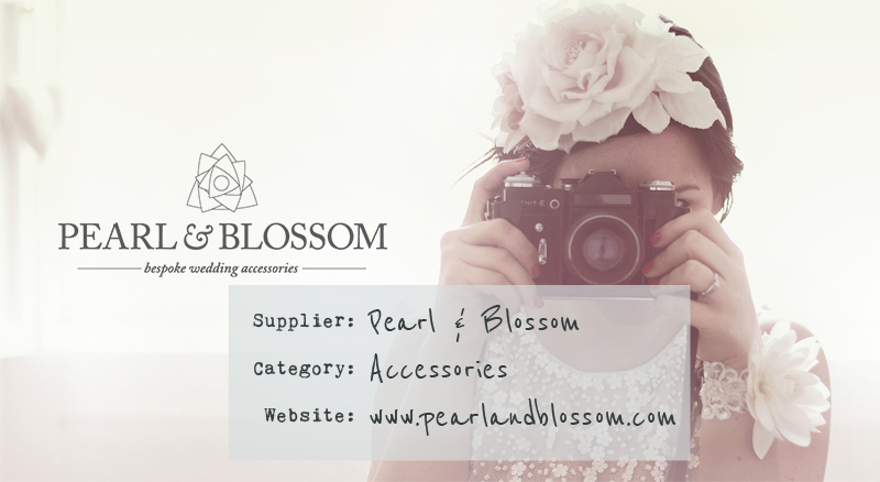 Pearl And Blossom Wedding Accessories
