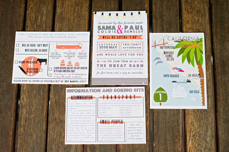 Kate Ruth Romey Wedding Stationery