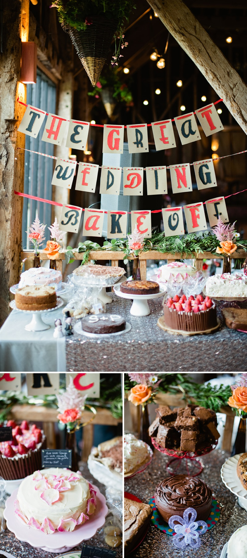 DIY Wedding Dessert Table Cake Competition Bakeoff