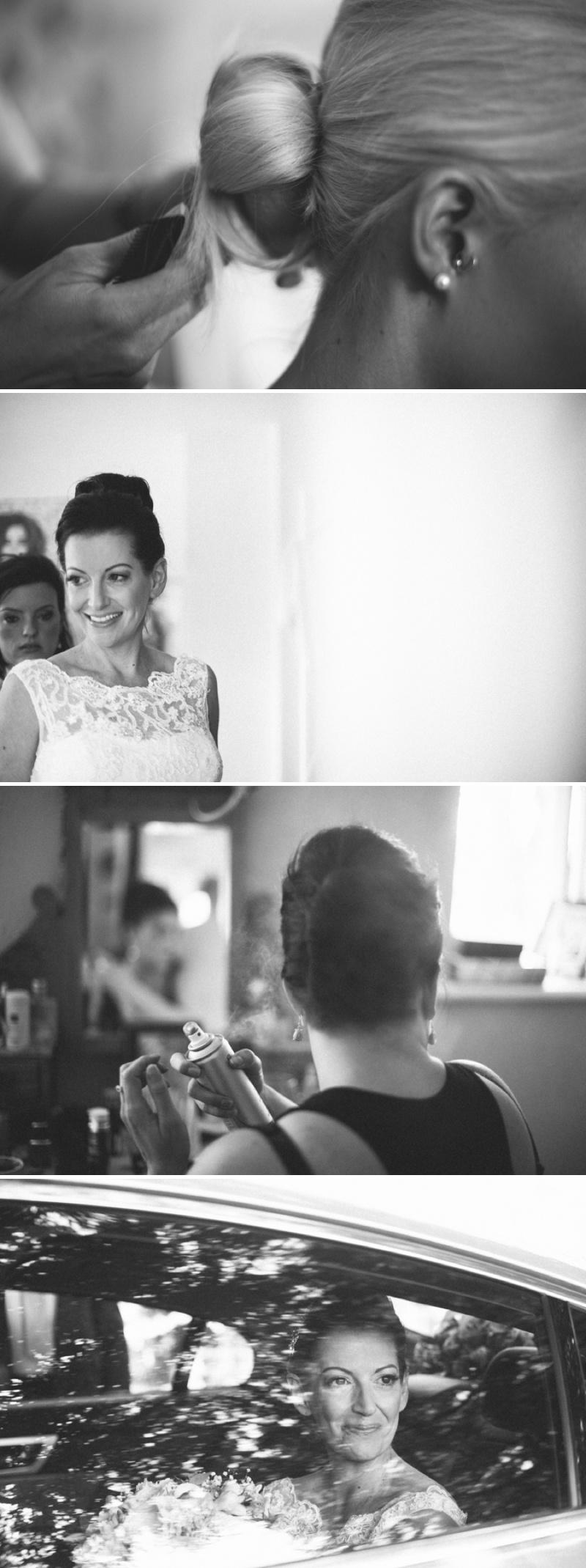 Stephen Casali Hairdressing Wedding Hair