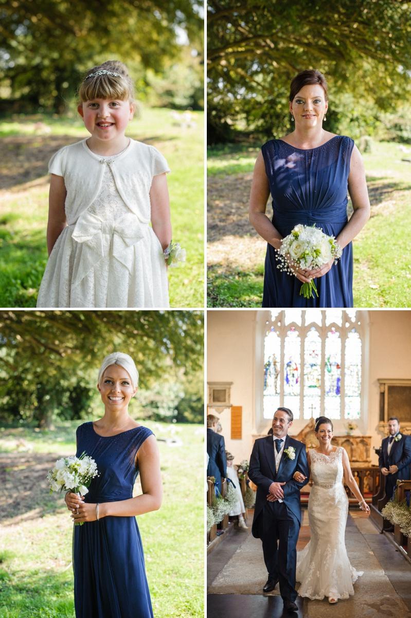 Blue Coast Bridesmaid Dress Chiffon
