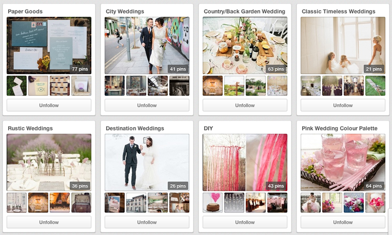 Rock My Wedding Pinterest Board