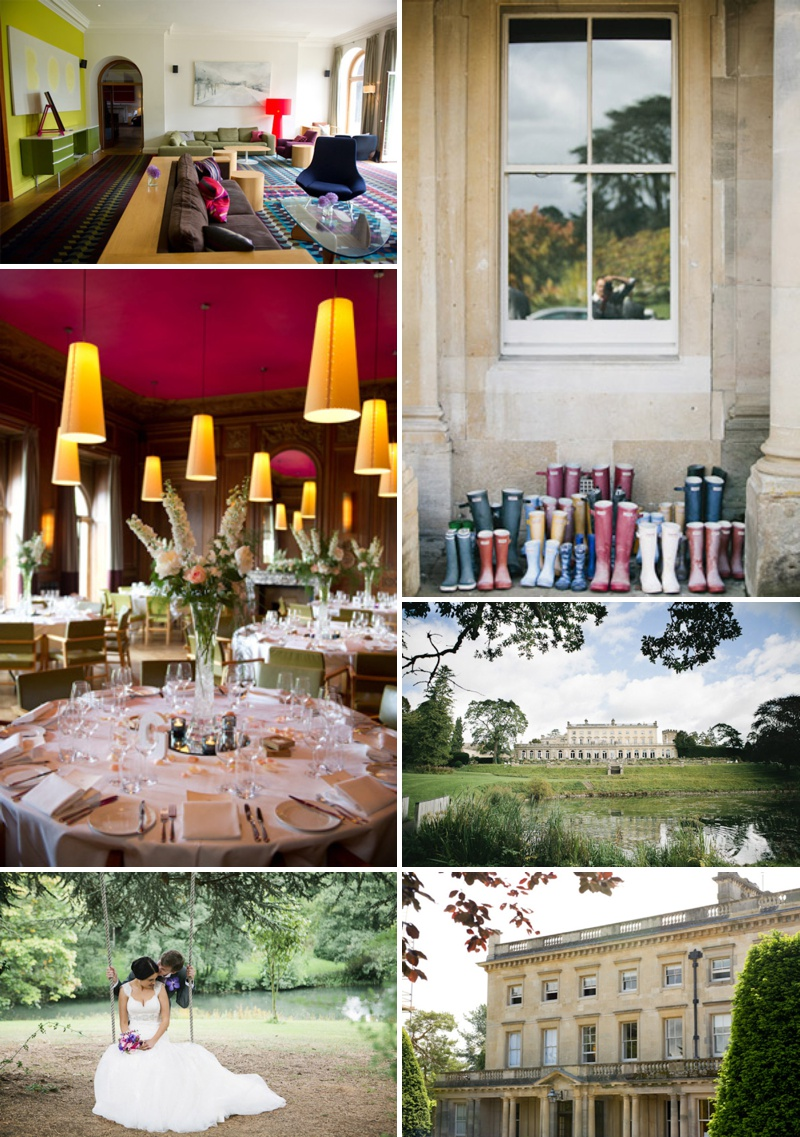 Cowley Manor Contemporary Wedding Venue Cowley Cotswolds UK