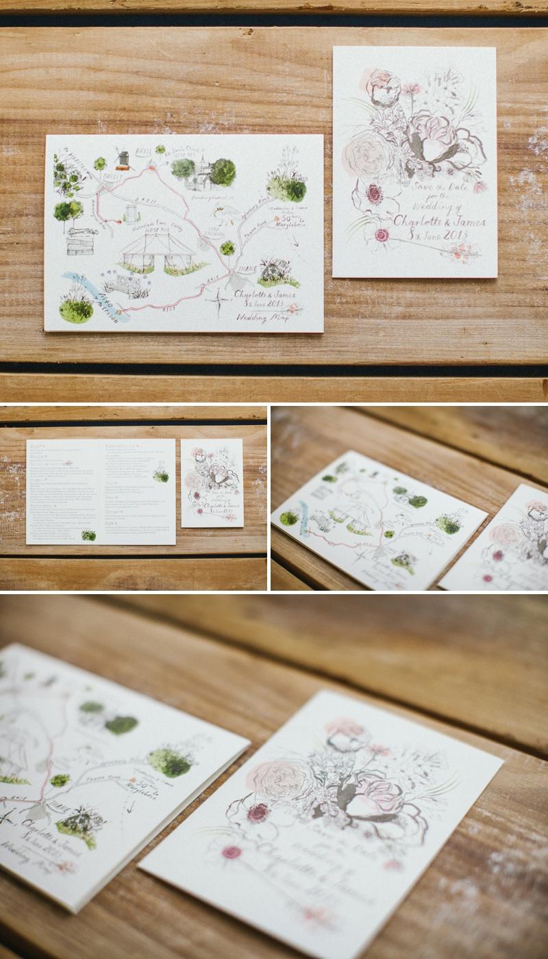 CLD Wedding Stationery Illustrated Bespoke Design