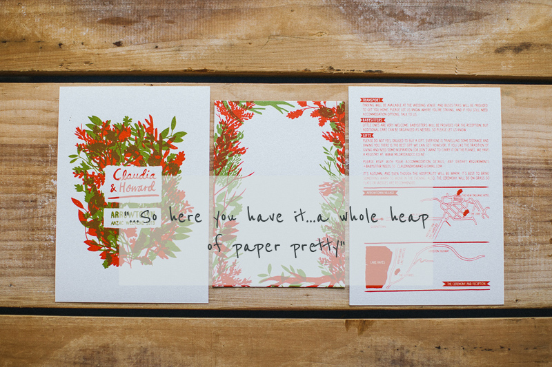 Love Lust List Stationery Suppliers