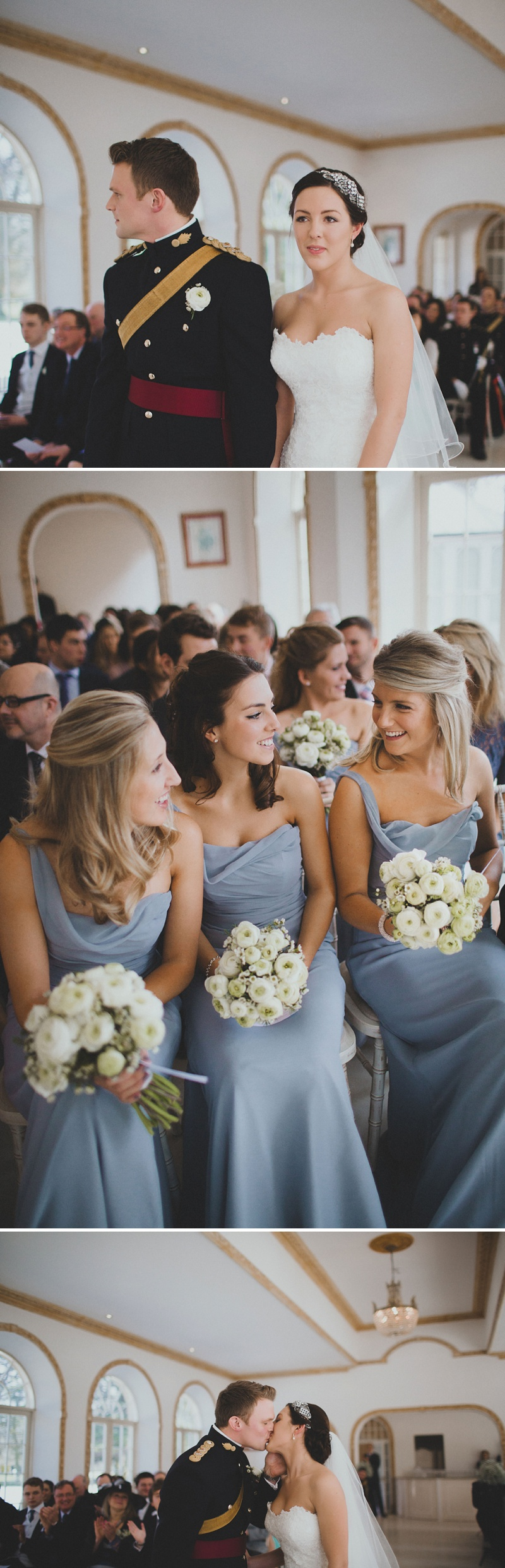 Jim Hjelm Grey Bridesmaid Dresses