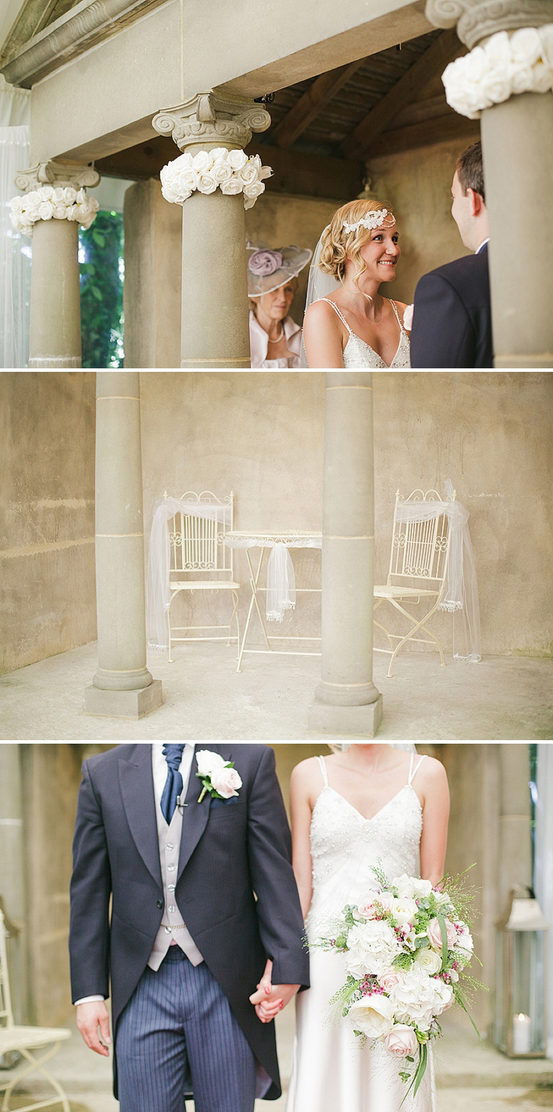 1920's vintage wedding with a Ritva Westenius gatsby dress at Parley Manor Dorcet_0014