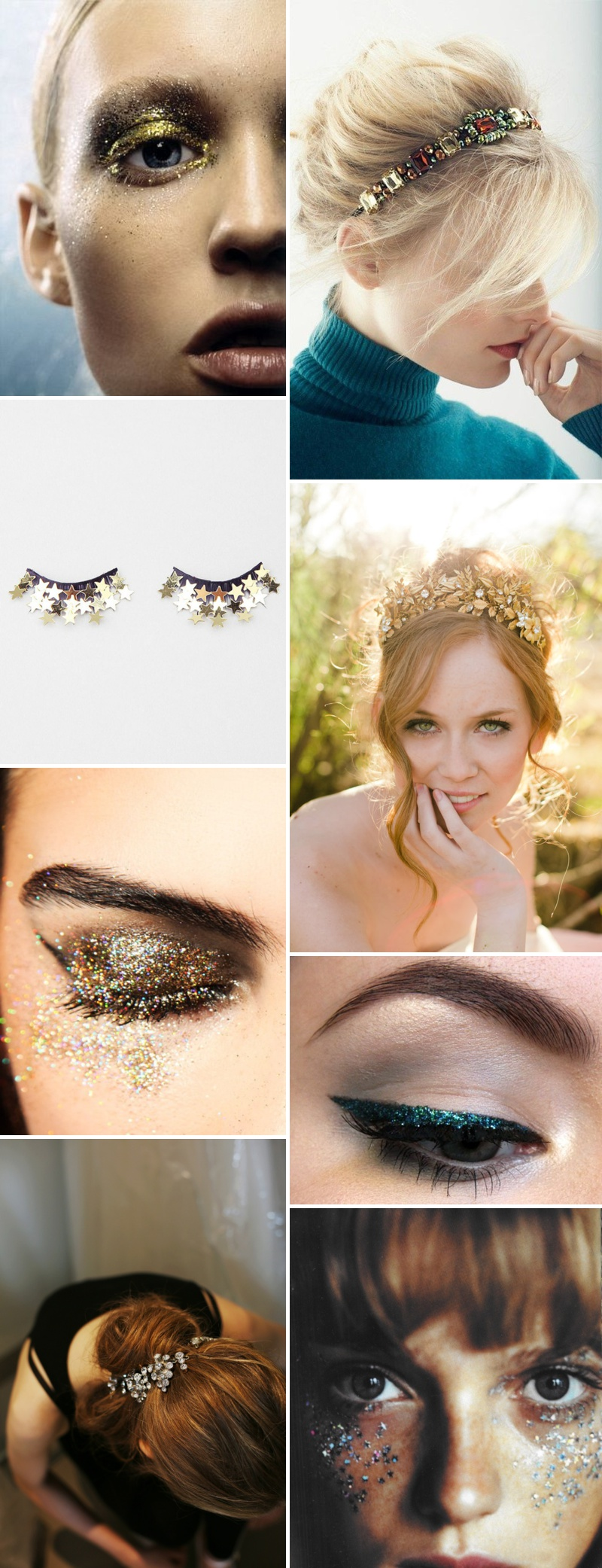 Golden Toned Wedding Beauty