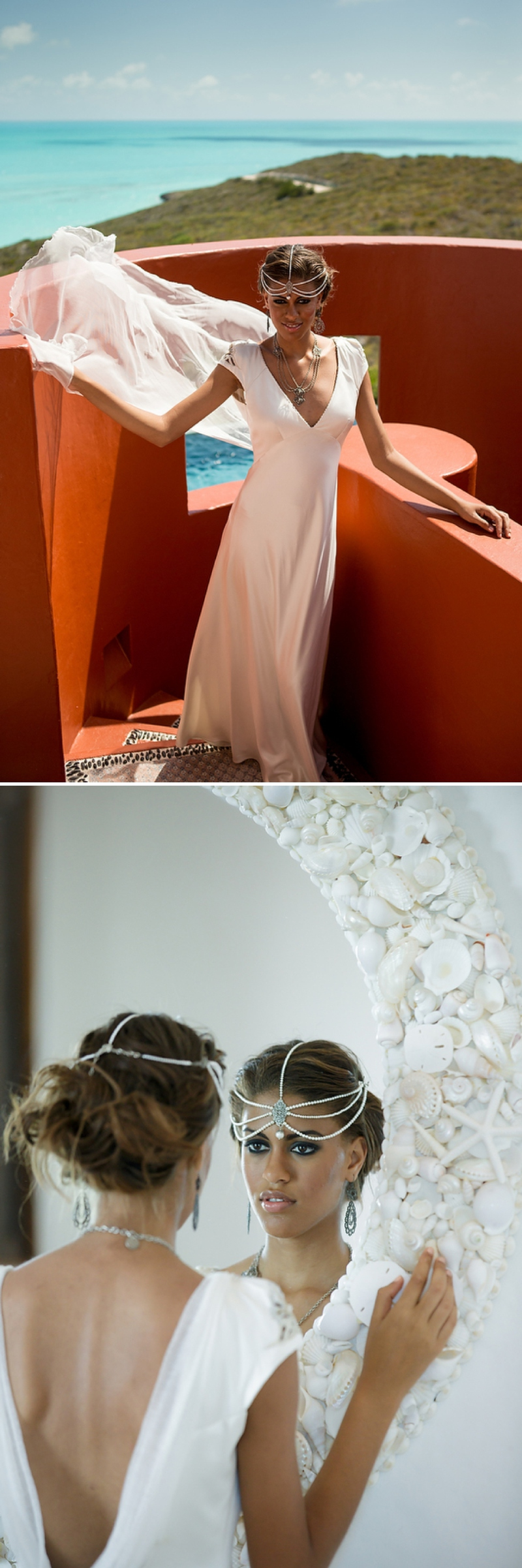 A bohemian beach destination wedding inspiration shoot in Turks & Caicosby Brilliant Studios_0071