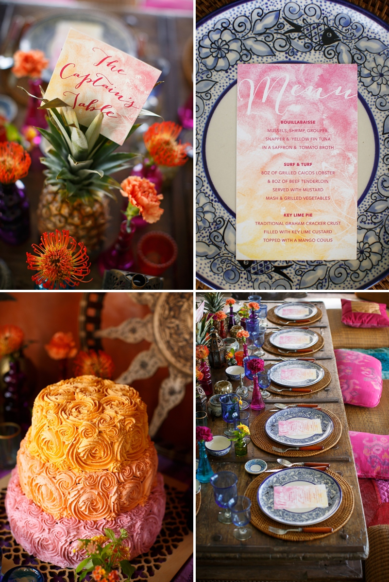 A bohemian beach destination wedding inspiration shoot in Turks & Caicosby Brilliant Studios_0076