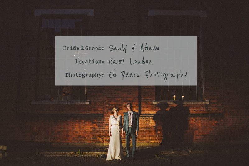East London Wedding In A Converted Power Station