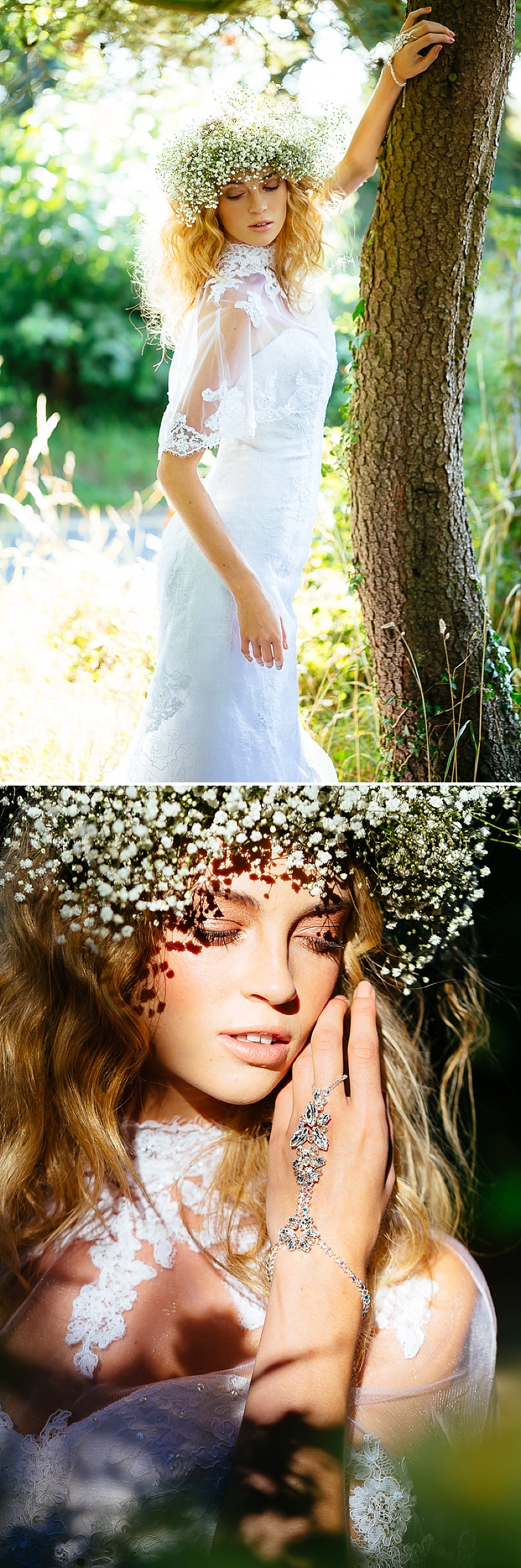 A Boho Earth-Child Themed Bridal Inspiration Shoot, Gowns by Diane Harbridge, Images from Phil Drinkwater_0001