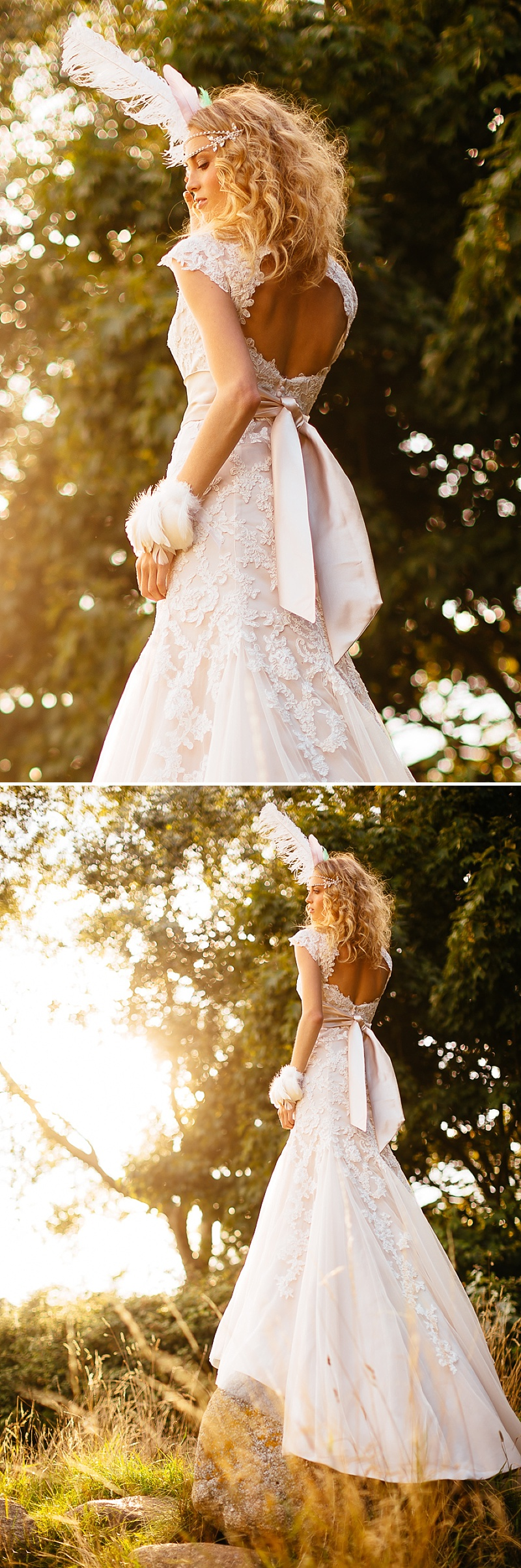 A Boho Earth-Child Themed Bridal Inspiration Shoot, Gowns by Diane Harbridge, Images from Phil Drinkwater_0003
