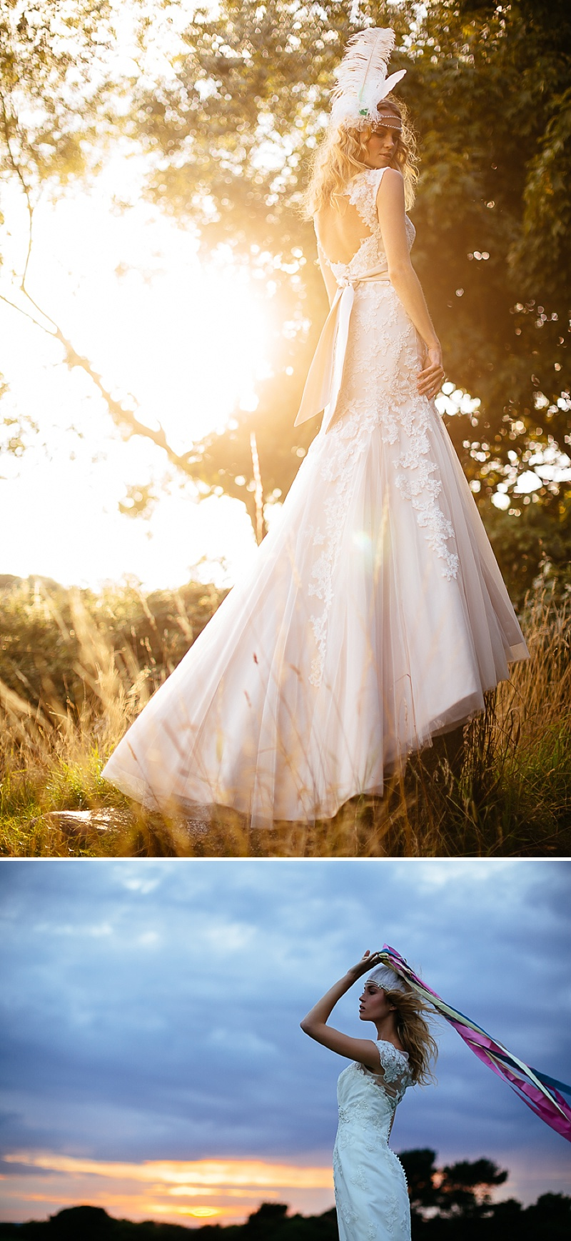 A Boho Earth-Child Themed Bridal Inspiration Shoot, Gowns by Diane Harbridge, Images from Phil Drinkwater_0008