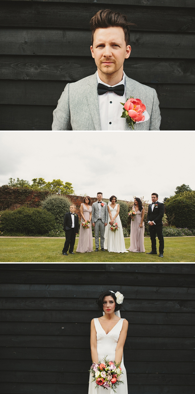 A Rock N Roll wedding at Gaynes Park Barns with a Mae Belle and Bunty bridal gown_0165