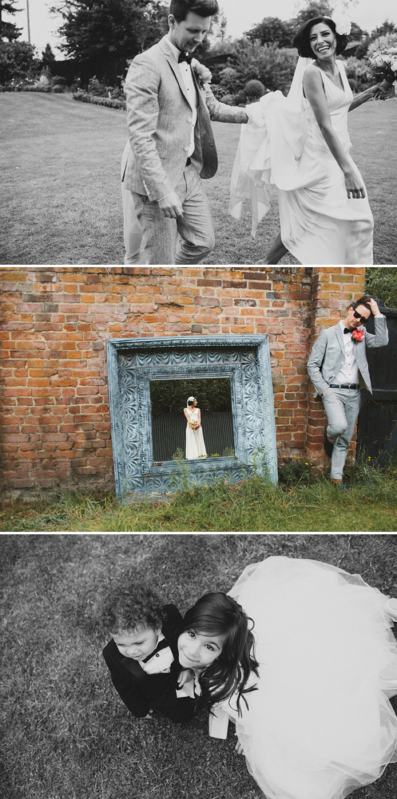 A Rock N Roll wedding at Gaynes Park Barns with a Mae Belle and Bunty bridal gown_0168