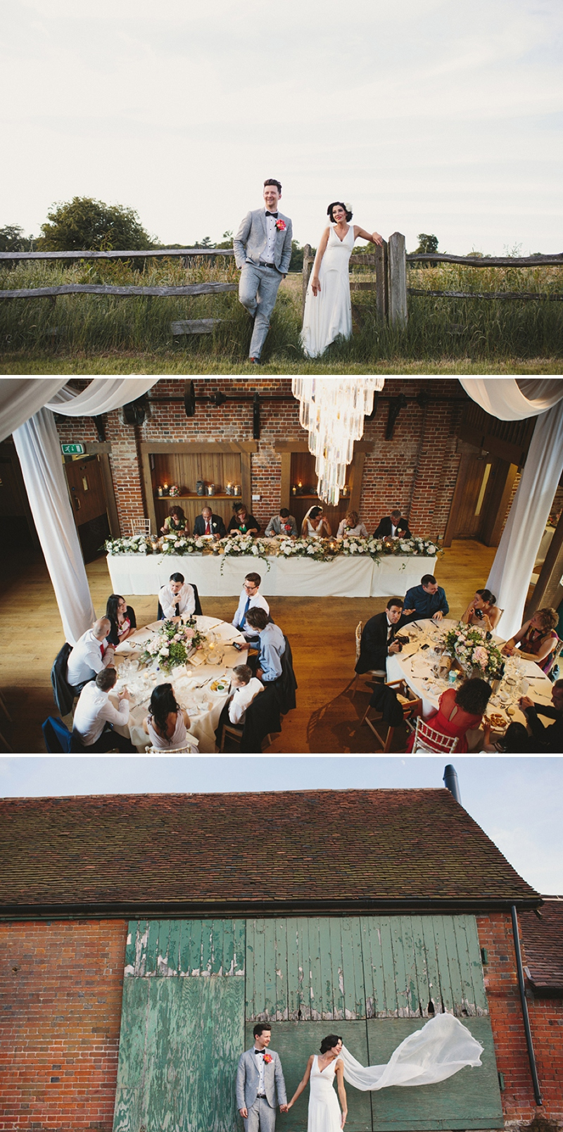 A Rock N Roll wedding at Gaynes Park Barns with a Mae Belle and Bunty bridal gown_0171