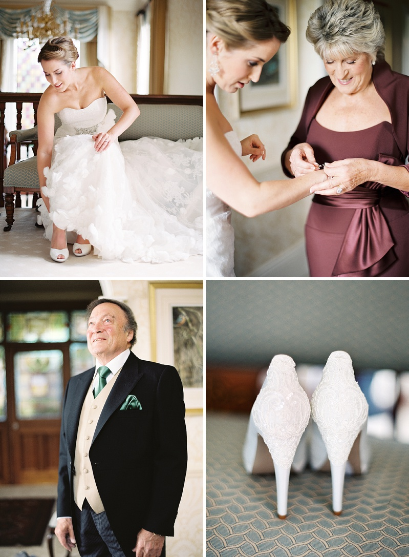 A Spring Themed Wedding at Swancar Farm, Nottinghamshire, Bride in Fairy by Enzoani with No 1 by Jenny Packham shoes, images by Depict Photography_0006