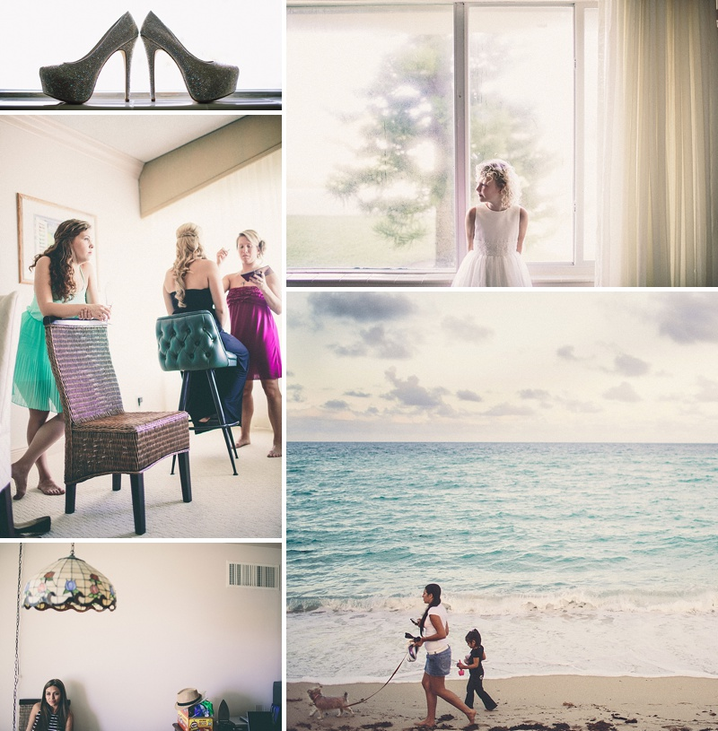 A UK destination wedding in Miami, Florida USA with a gold theme, black tie dress code and Pronovias wedding dress_0001