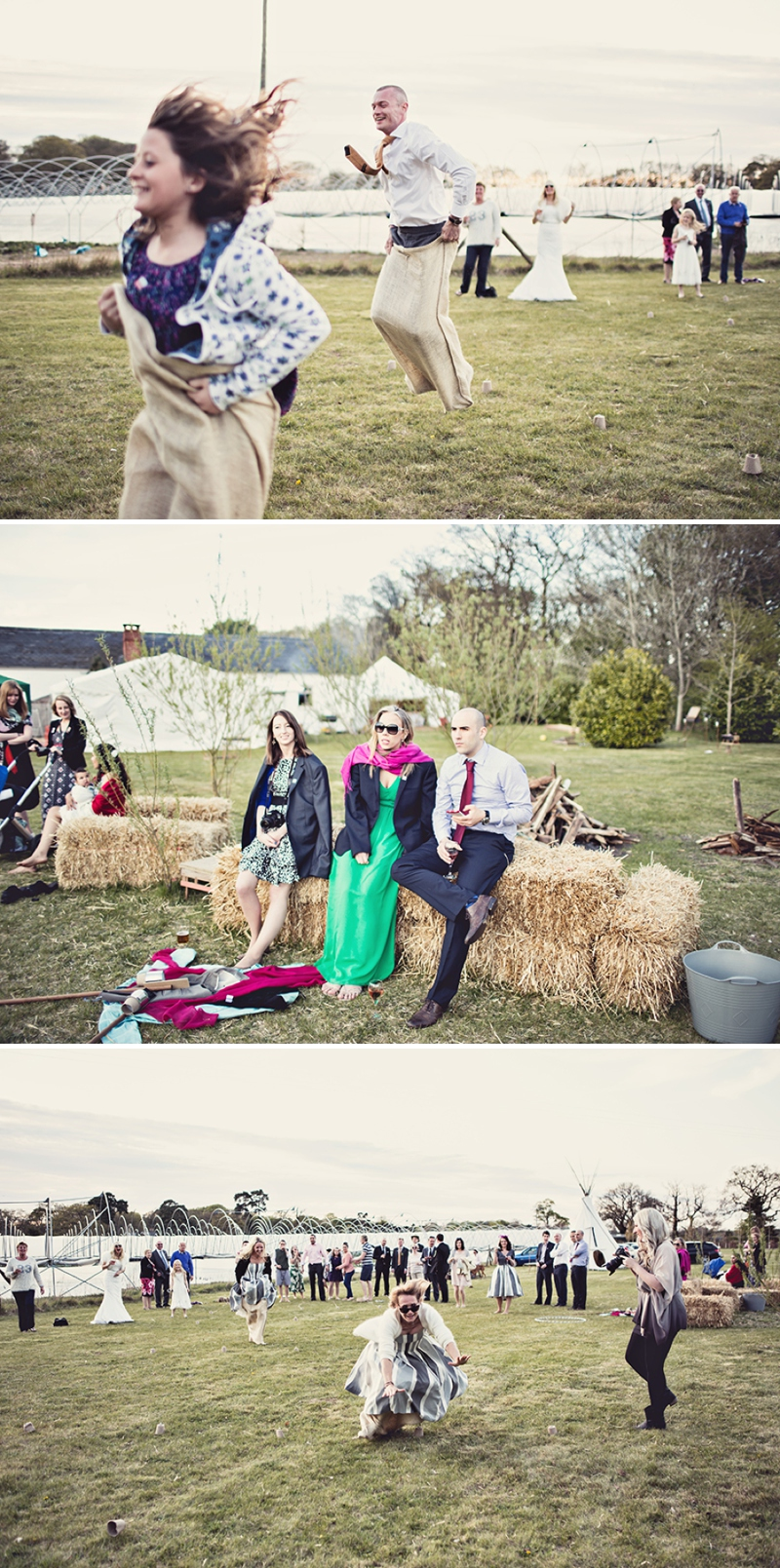 A festival vintage inspired wedding at Cliff Barns in Norfolk by Anna Clarke Photography_0100