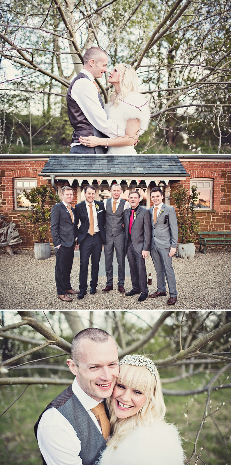 A festival vintage inspired wedding at Cliff Barns in Norfolk by Anna Clarke Photography_0102