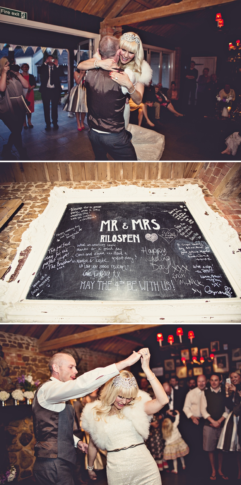 A festival vintage inspired wedding at Cliff Barns in Norfolk by Anna Clarke Photography_0104