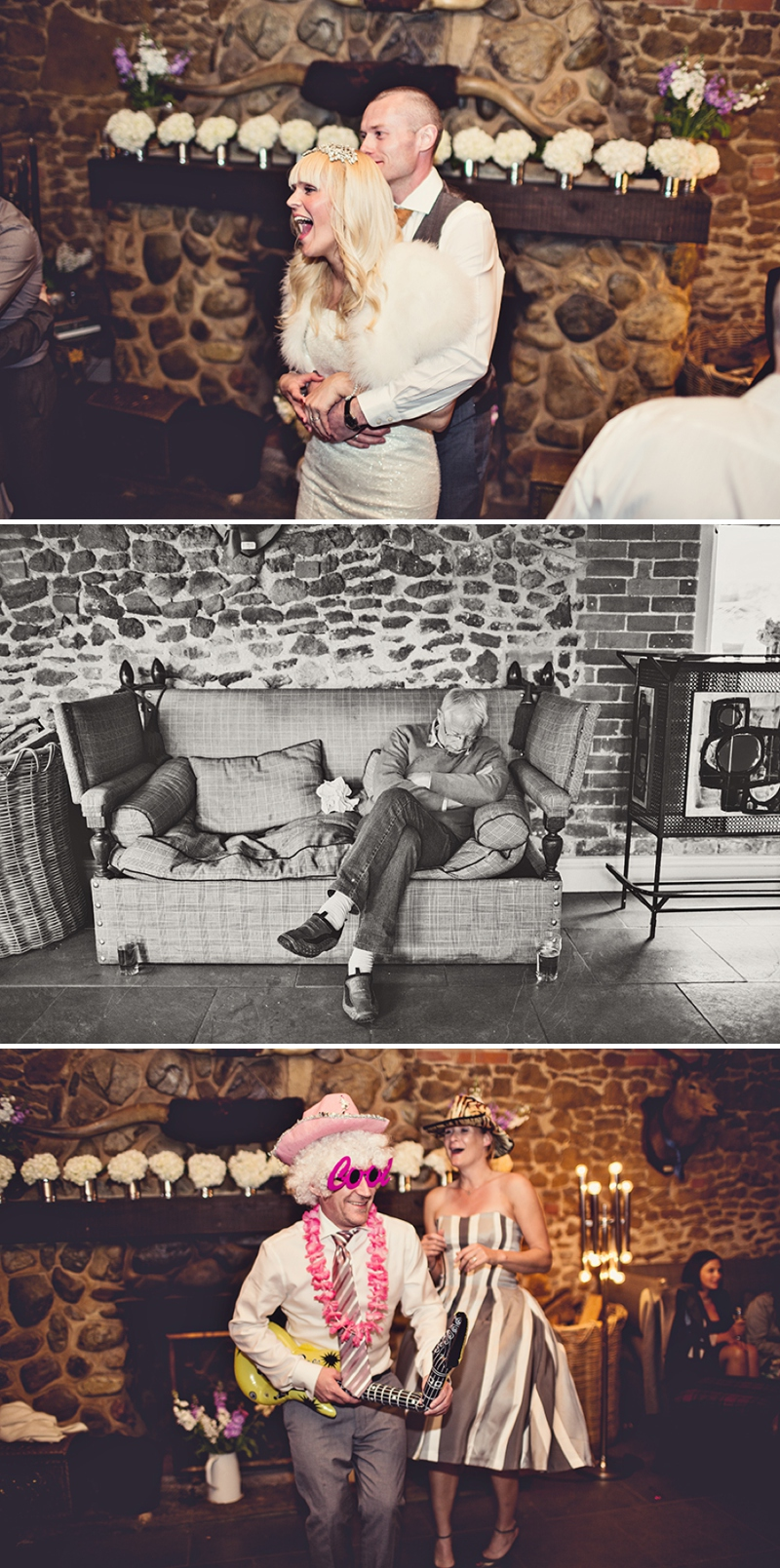 A festival vintage inspired wedding at Cliff Barns in Norfolk by Anna Clarke Photography_0105
