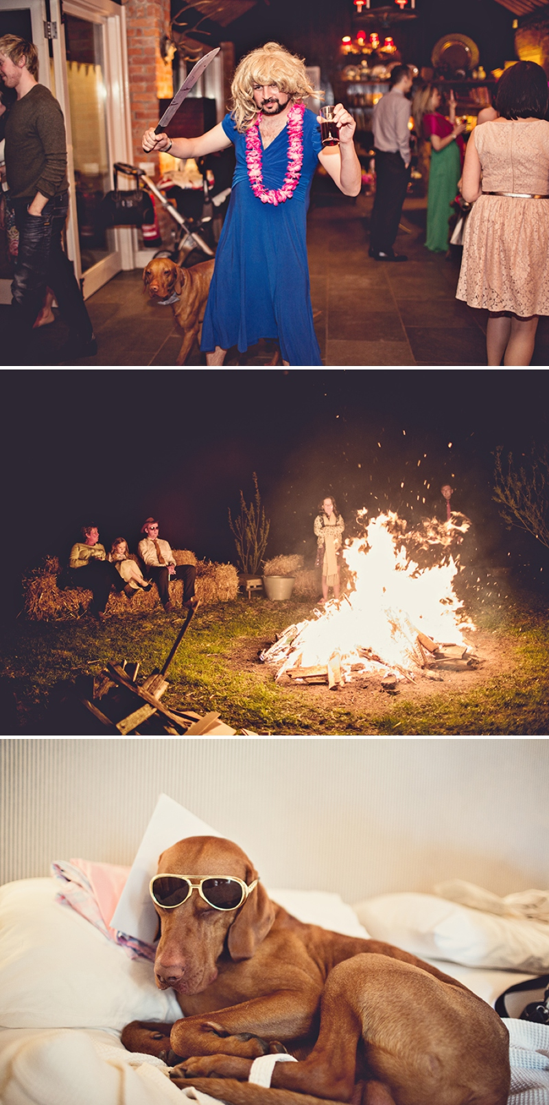 A festival vintage inspired wedding at Cliff Barns in Norfolk by Anna Clarke Photography_0106