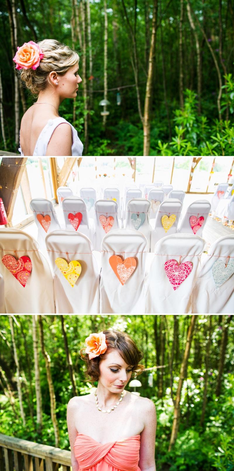 A modern bright colourful wedding at Sanburn Hall York with a bride designed dress_0187