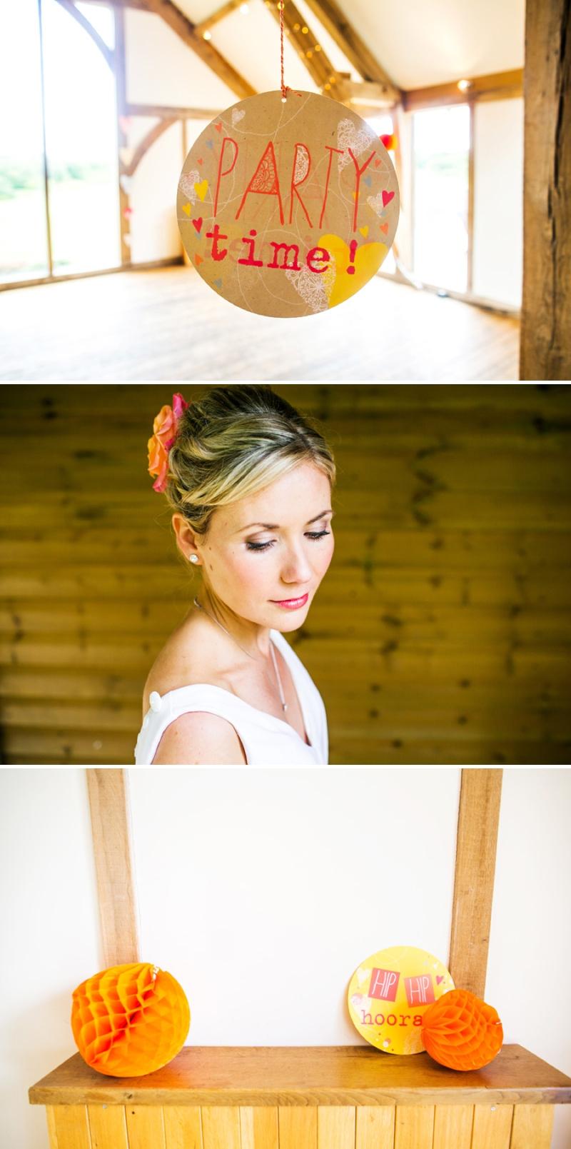 A modern bright colourful wedding at Sanburn Hall York with a bride designed dress_0188