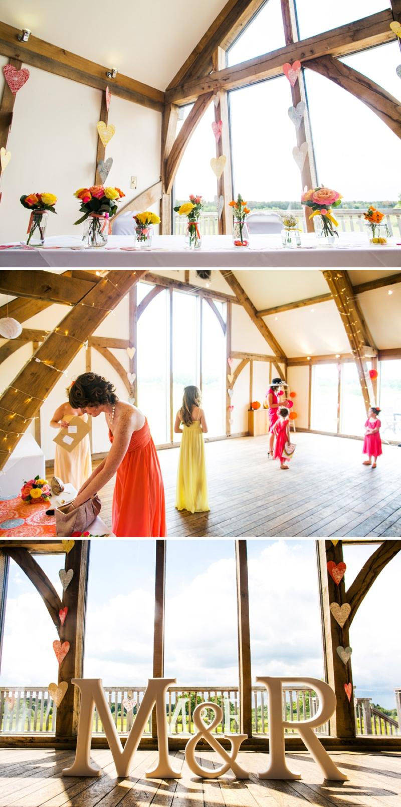 A modern bright colourful wedding at Sanburn Hall York with a bride designed dress_0189