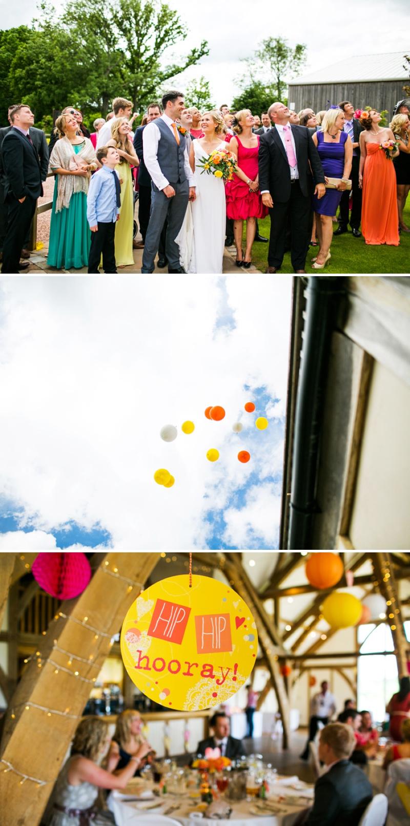 A modern bright colourful wedding at Sanburn Hall York with a bride designed dress_0194