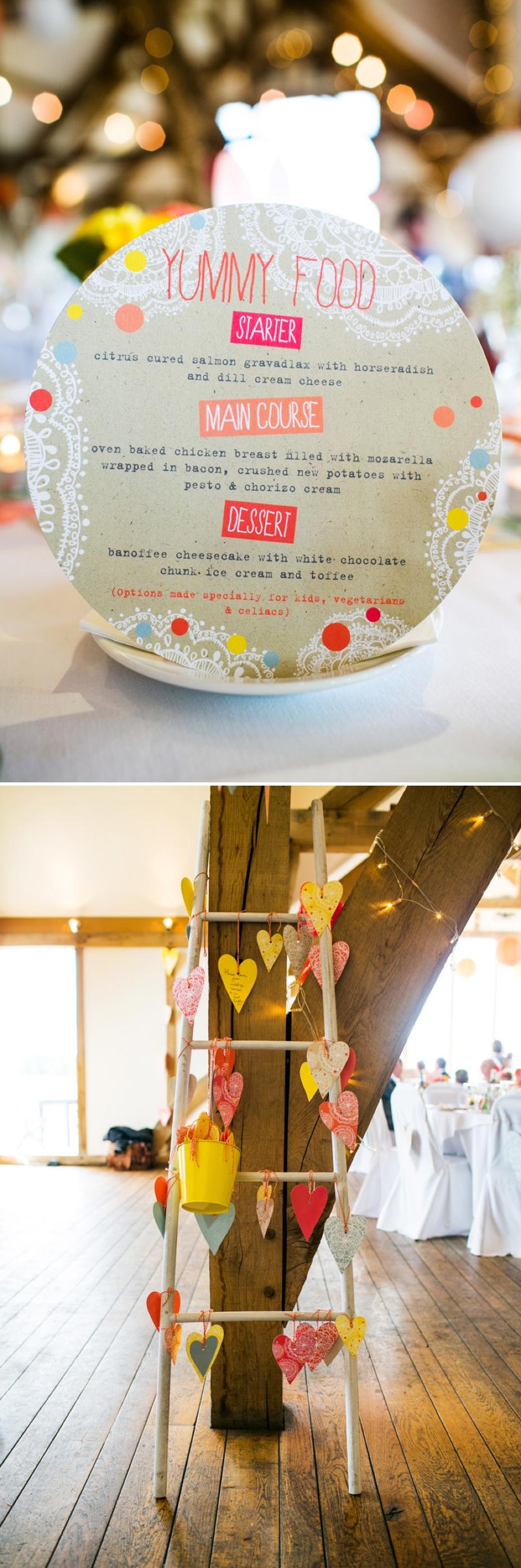 A modern bright colourful wedding at Sanburn Hall York with a bride designed dress_0195