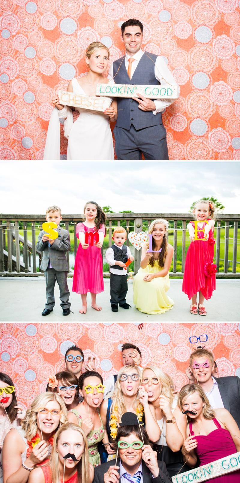A modern bright colourful wedding at Sanburn Hall York with a bride designed dress_0198