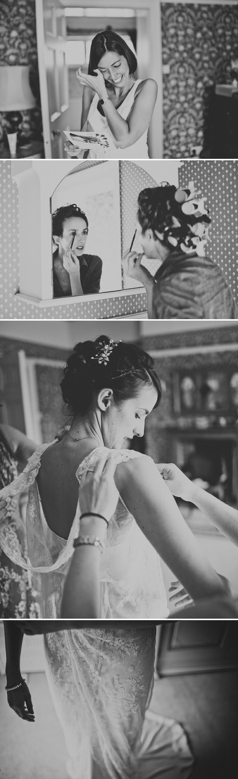 An Elegant Spring Wedding At Yeldersley Hall With A Vintage French Silk And Lace Wedding Dress By Jane Bourvis With A Delphinium And Dahlia Bouquet Spain and a Mediterranean Theme._0005