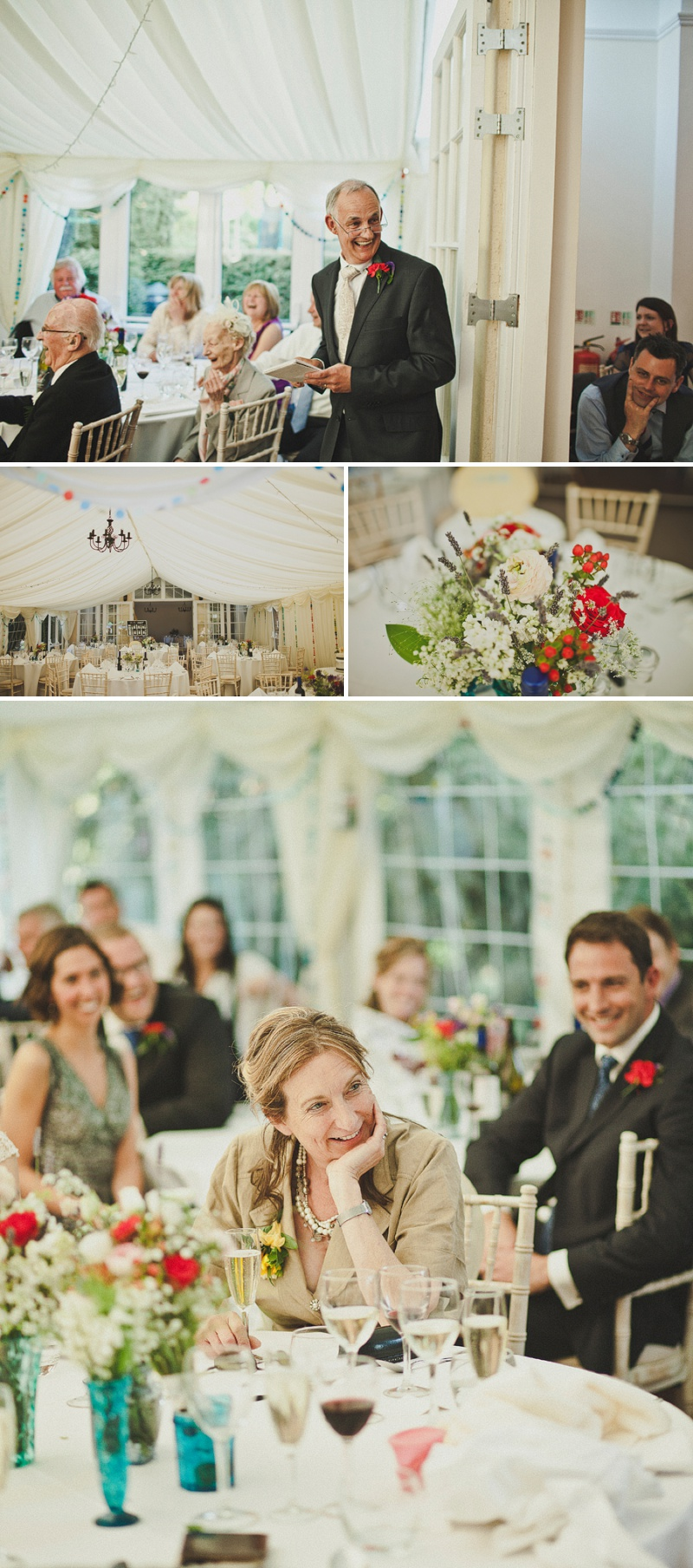 An Elegant Spring Wedding At Yeldersley Hall With A Vintage French Silk And Lace Wedding Dress By Jane Bourvis With A Delphinium And Dahlia Bouquet Spain and a Mediterranean Theme._0016