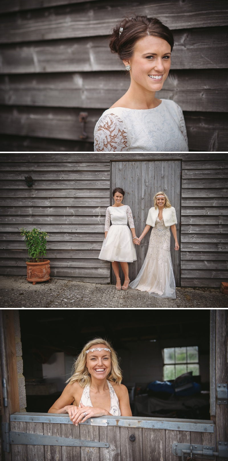 An English summer festival style wedding held in a Tipi with a humanist ceremony with a bride in a Jenny Packham Luna dress and a bride in Miu Miu shoes and a Fur Coat No Knickers Bellini dress._0015