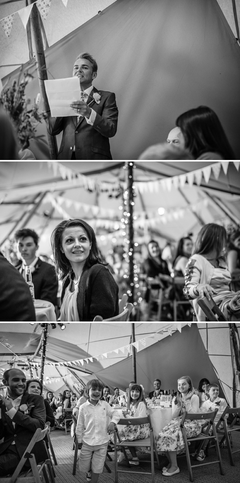 An English summer festival style wedding held in a Tipi with a humanist ceremony with a bride in a Jenny Packham Luna dress and a bride in Miu Miu shoes and a Fur Coat No Knickers Bellini dress._0017