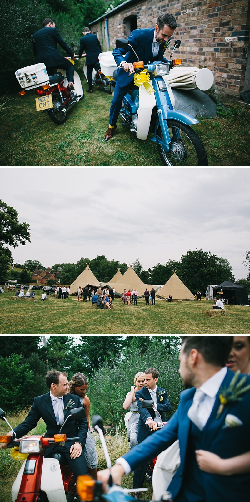 Rustic Tipi Wedding With Yellow Details In Shropshire, Bride In Sienna By Sassi Holford, Images By Chris Barber_0010