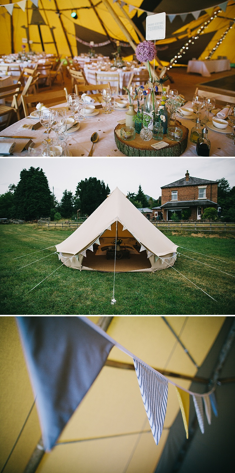 Rustic Tipi Wedding With Yellow Details In Shropshire, Bride In Sienna By Sassi Holford, Images By Chris Barber_0011